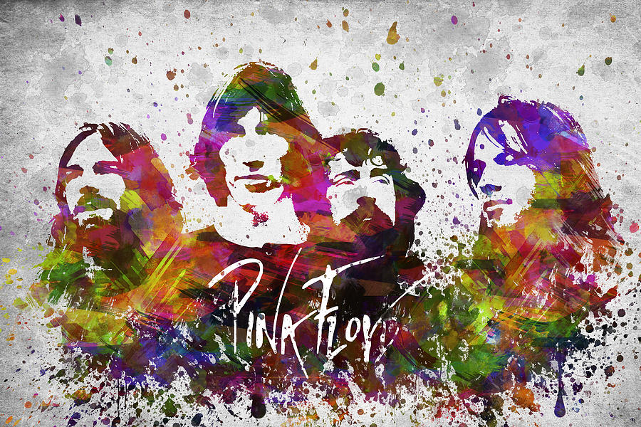 Pink Floyd In Color Digital Art
