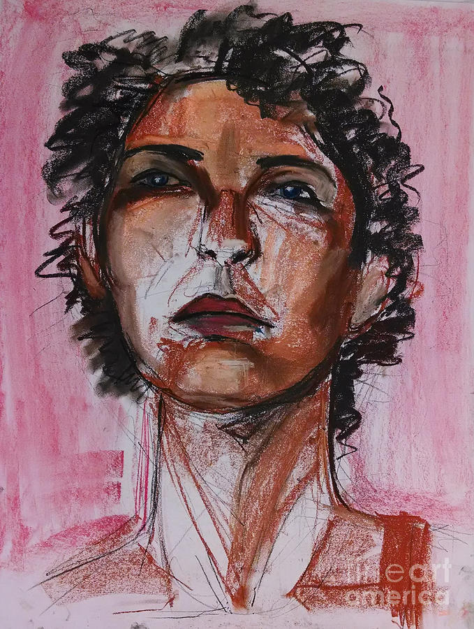 Pink Drawing - Pink  by Gabrielle Wilson-Sealy