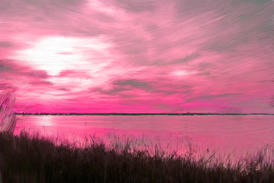 РОЗОВЫЙ ФОН Pink-sky-at-night-a-romantic-delight-bruce-nutting