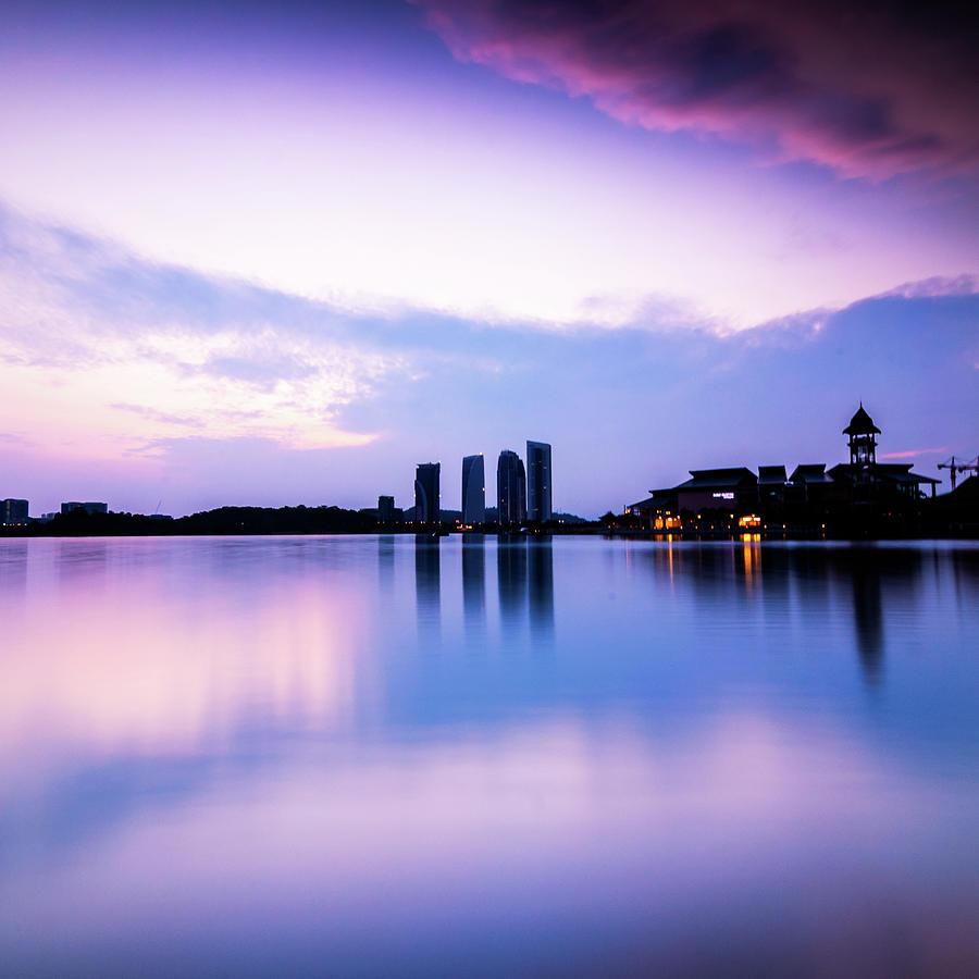 Pink Sunrise Photograph by Azirull Amin Aripin