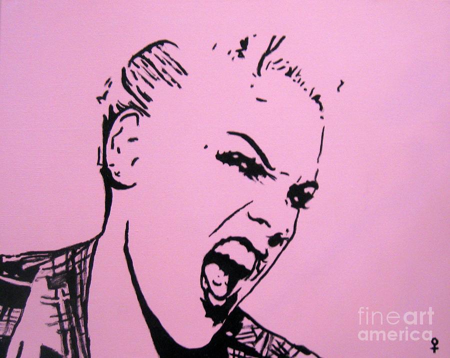 Pink Painting - Pink by Venus