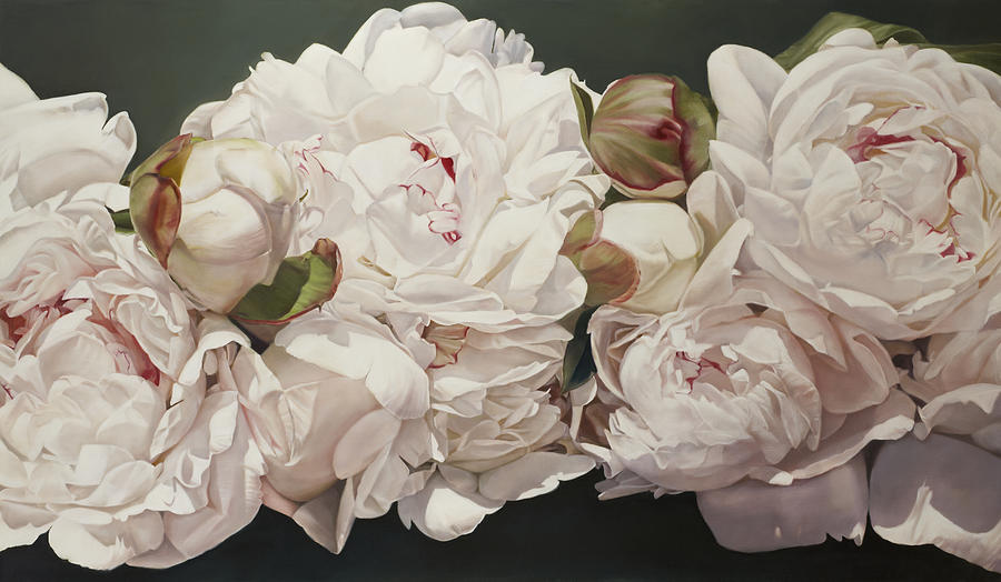 Acrylic Paintings Of Peonies