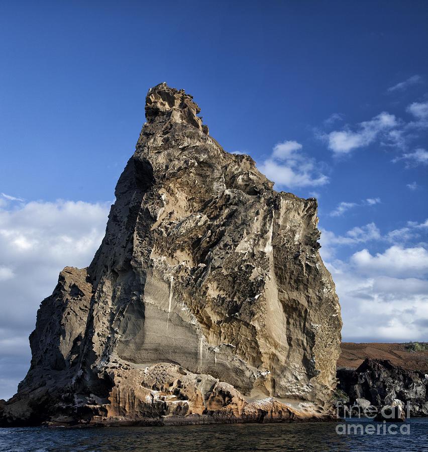 Pinnacle Rock Photograph - Pinnacle Rock by Timothy Hacker