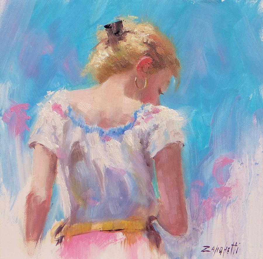 Artist Pino Painting - Pino Study by Laura Lee Zanghetti