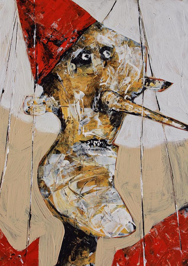 Pinocchio Painting - Pinocchio No. 2  by Mark M  Mellon
