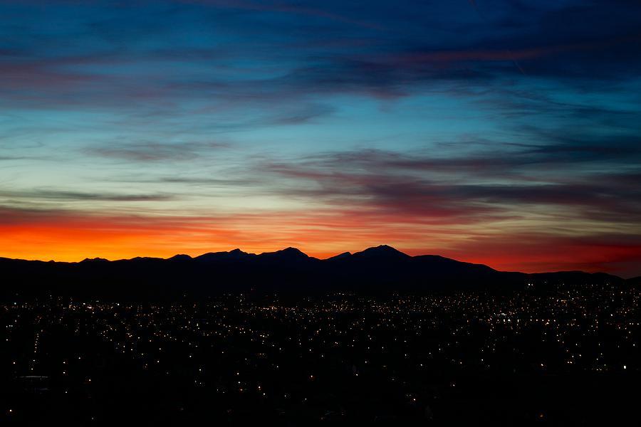 Sunset Photograph - Pintler Sunset  by Kevin Bone