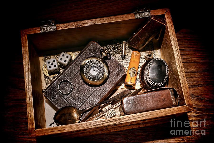 Keepsake Photograph - Pioneer Keepsake Box by Olivier Le Queinec