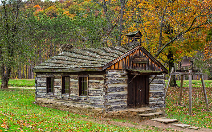 Pioneer Village Chapel by John M Bailey