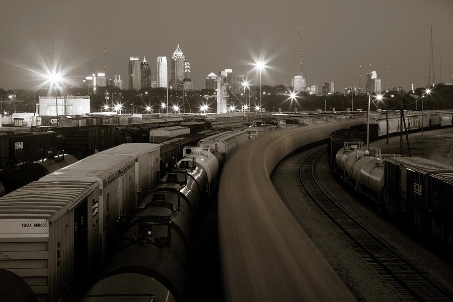 Atlanta Photograph - Pipeline To Atlanta by Scott Moore
