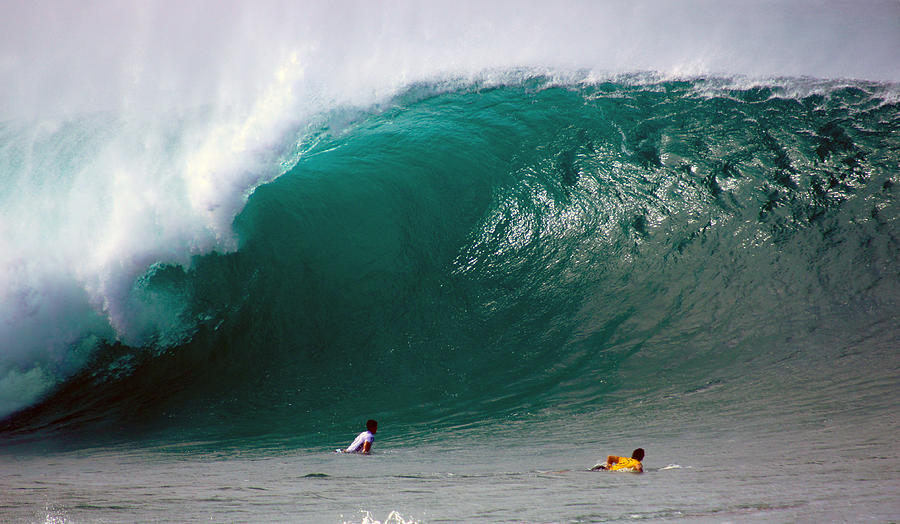 Banzai Pipeline Photograph - Pipeline Wave Hawaii by Kevin Smith