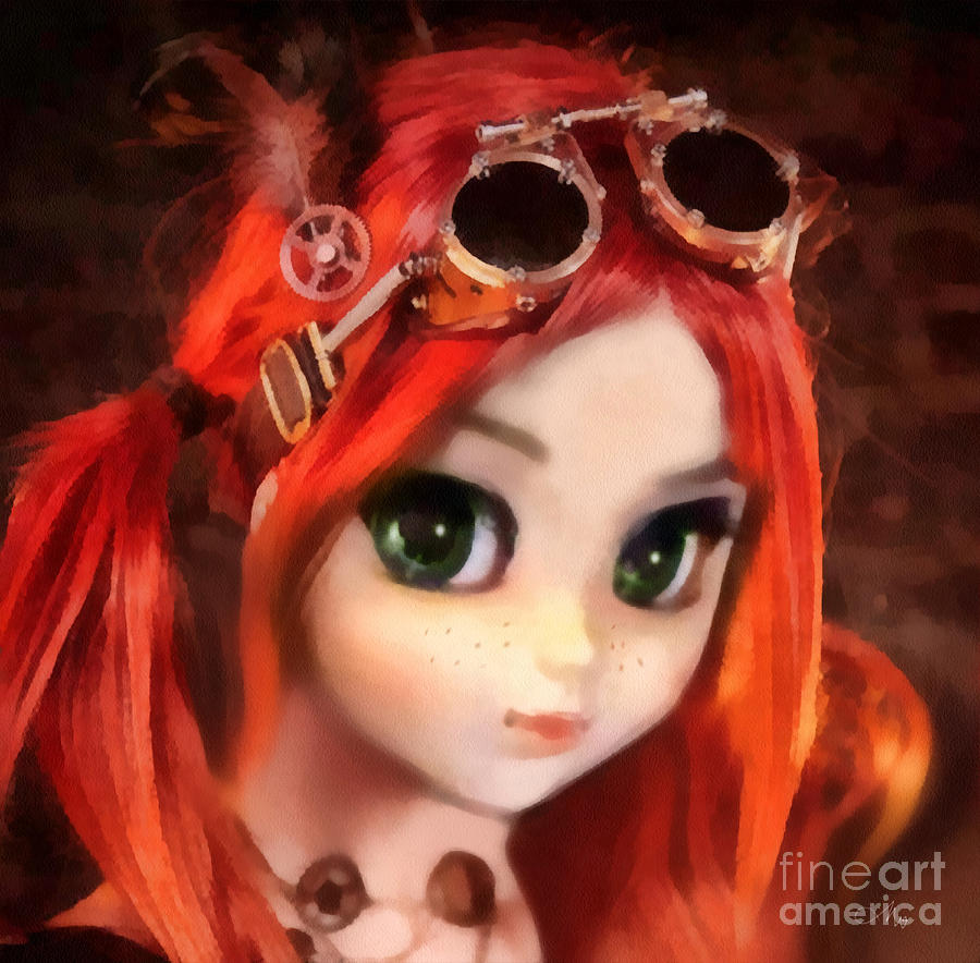 Pippi Painting - Pippi by Mo T
