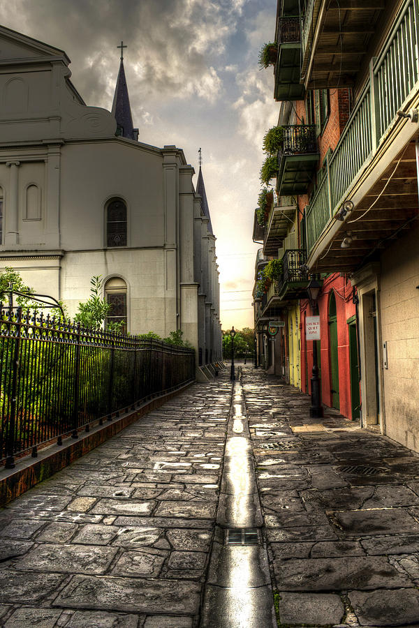 New Orleans Photograph - Pirate Alley by Greg and Chrystal Mimbs