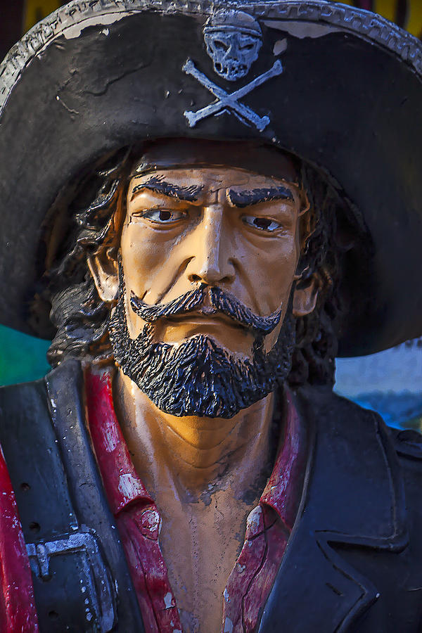 Pirate Photograph - Pirate Captain by Garry Gay