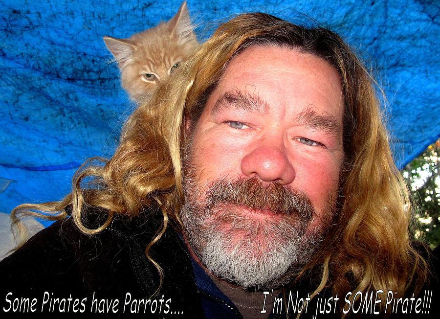 Pirate Kitty Photograph