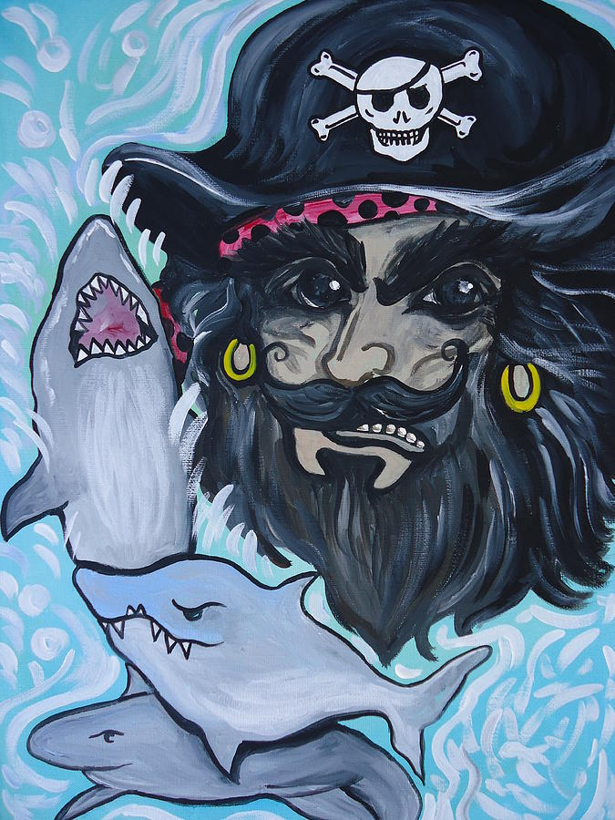 Pirate Shark Tank by Leslie Manley