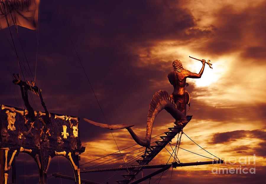 Pirate Photograph - Pirate Ship by Jelena Jovanovic