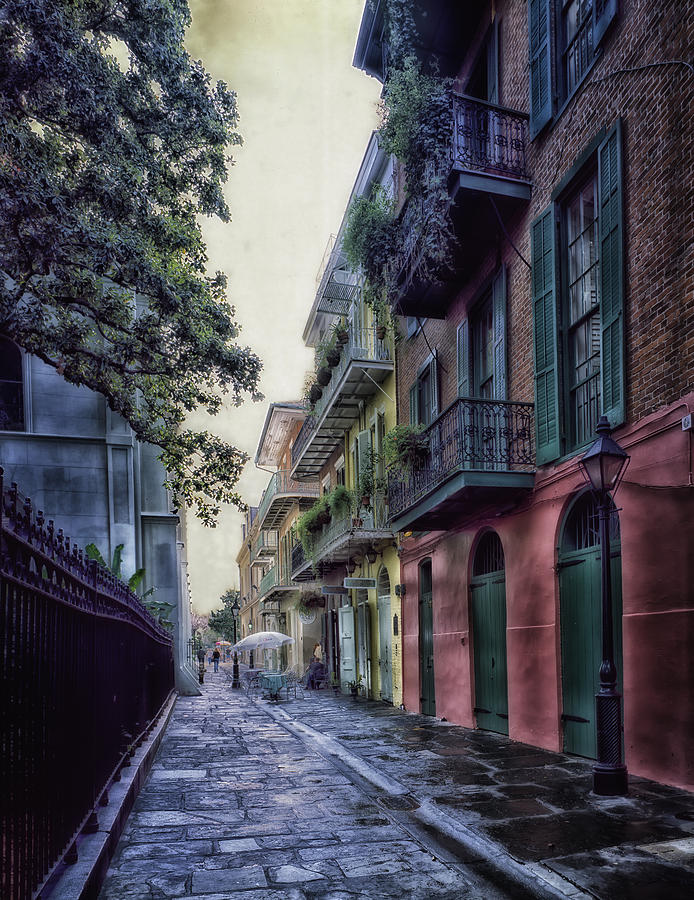 New Orleans Photograph - Pirates Alley In New Orleans by Mountain Dreams