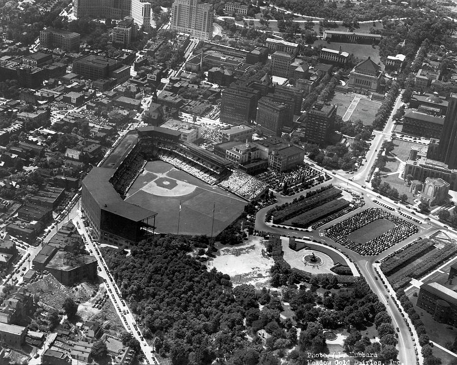 Pirate's Forbes Field by Underwood Archives