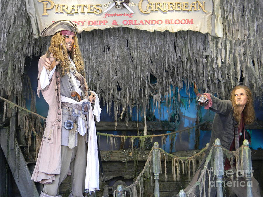 Wall Photograph - Pirates Of The Caribbean by Spirit Baker