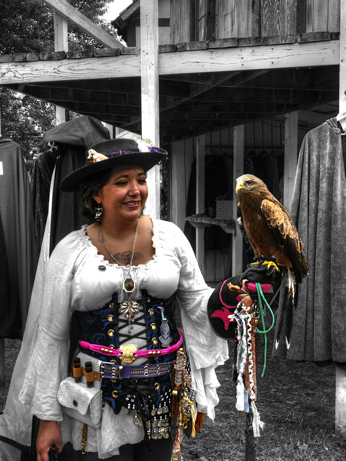 Costume Photograph - Pirates Of The Caribbean V5 by John Straton