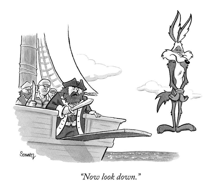 Pirates speak to wile e coyote by benjamin schwartz pirates speak to wile e coyote drawing by benjamin schwartz colourmoves