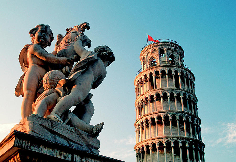 Pisa, Leaning Tower, Tuscany, Italy Photograph by Hans-peter Merten