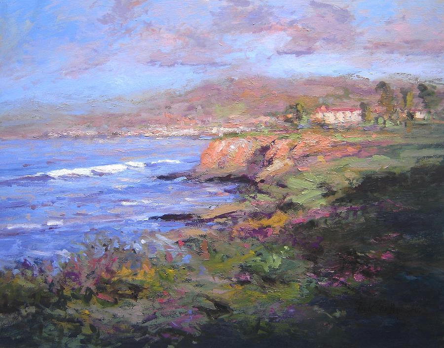 Sunrise Painting - Pismo Beach Sunrise by R W Goetting