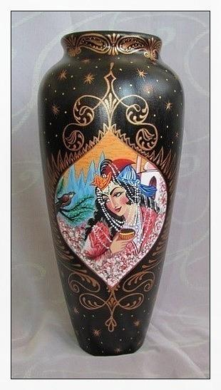 Ceramic Ceramic Art - Pitcher by Alexsandr Lovchikov