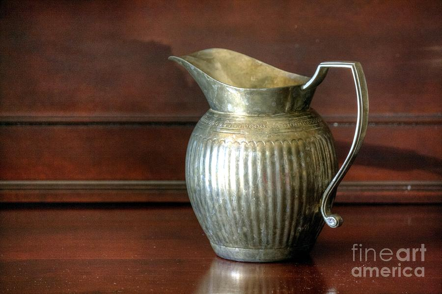 Vintage Photograph - Pitcher by Chris Anderson