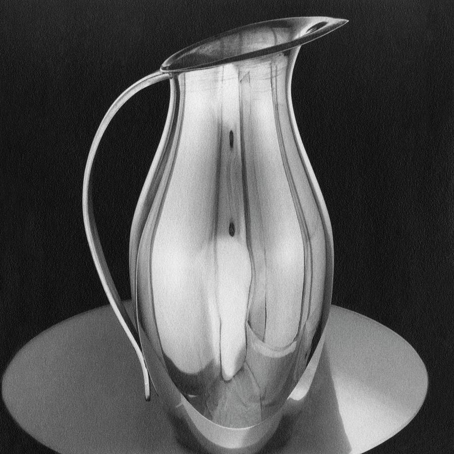 Pitcher From Ovingtons Photograph by Martinus Andersen