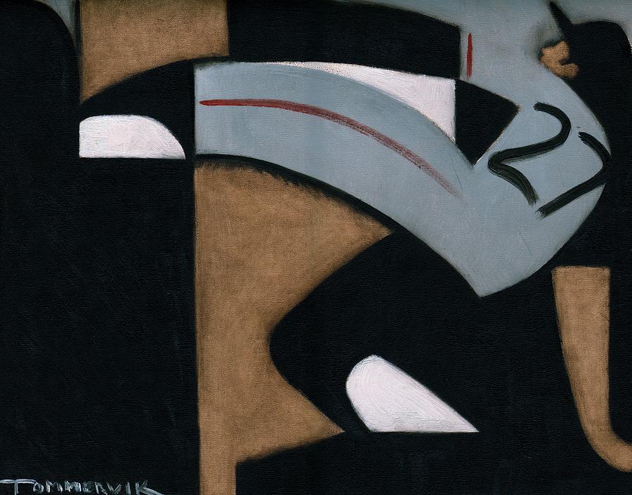 Giants Painting - Juan Marichal High Leg Kick  Art Print by Tommervik