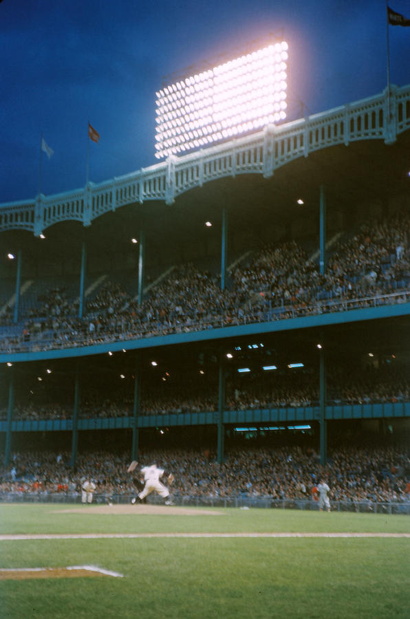 Marvin Newman Photograph - Old Yankee Stadium  by Retro Images Archive