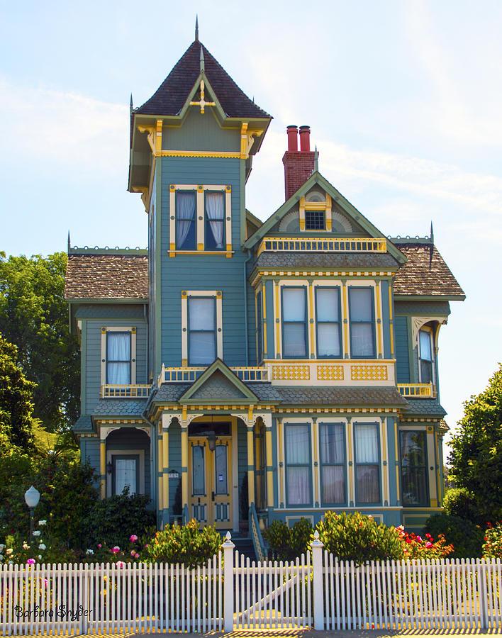 pitkin conrow victorian mansion arroyo grande california photograph