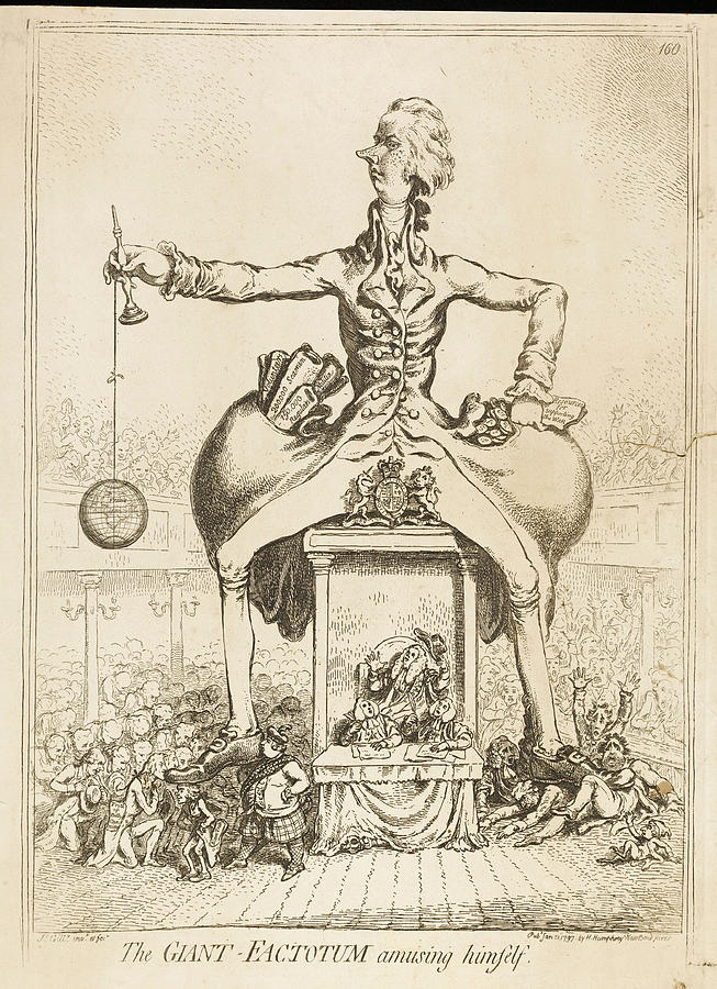 Pitt Drawing - Pitt The Younger  English Politician by Mary Evans Picture Library