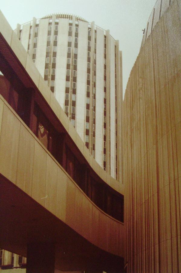 Pitt Photograph - Pitt Towers by Joann Renner
