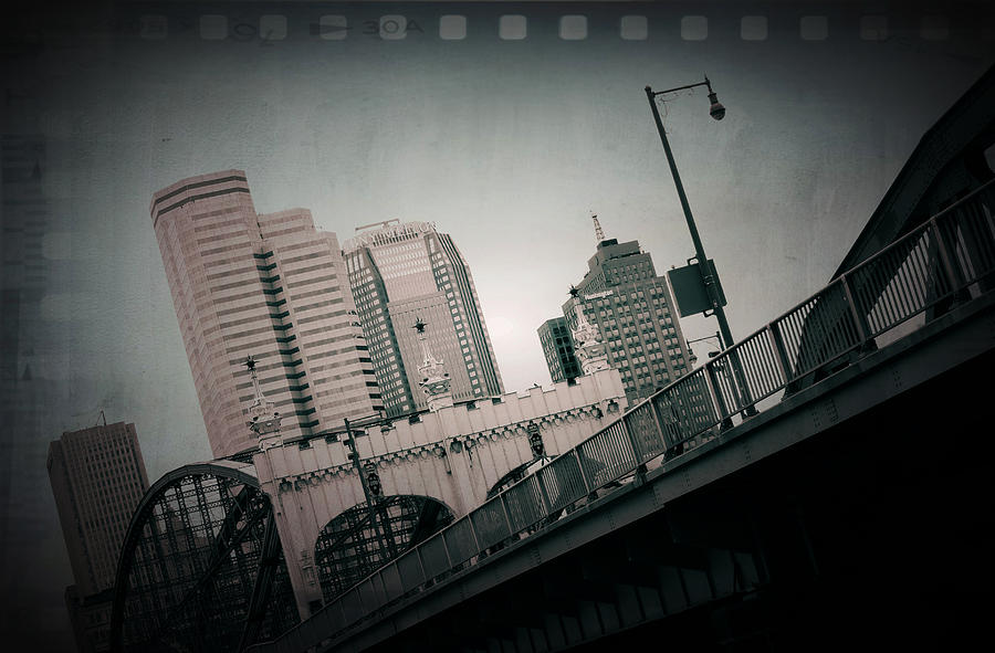 Pittsburgh Photograph - Pittsburgh Skyline From Station Square by Kenneth Krolikowski