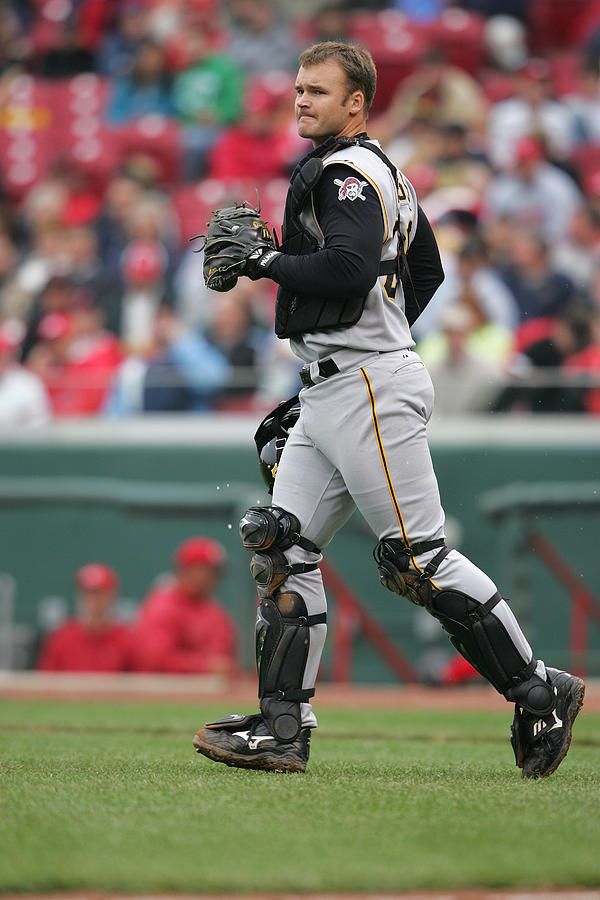 Pittsburgh Pirates v Cincinnati Reds Photograph by Andy Lyons