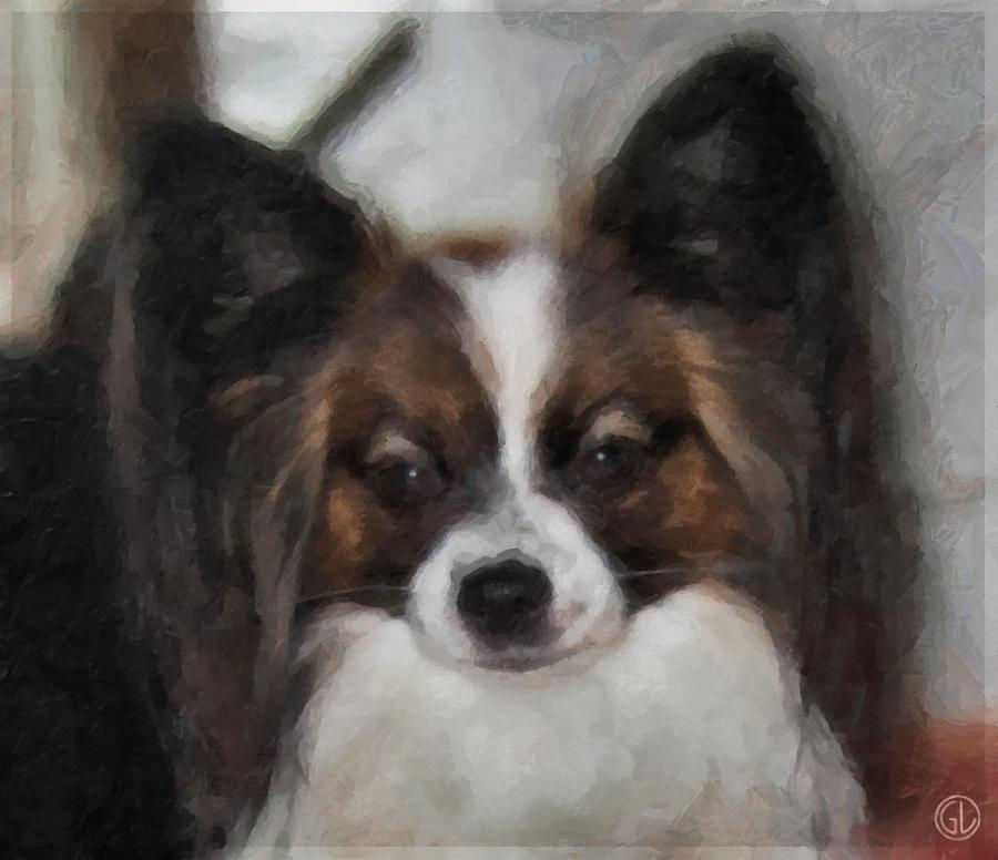 Dog Digital Art - Pixie by Gun Legler