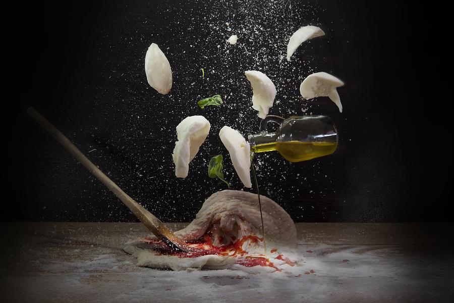 Pizza ingredients Photograph by Antonioiacobelli