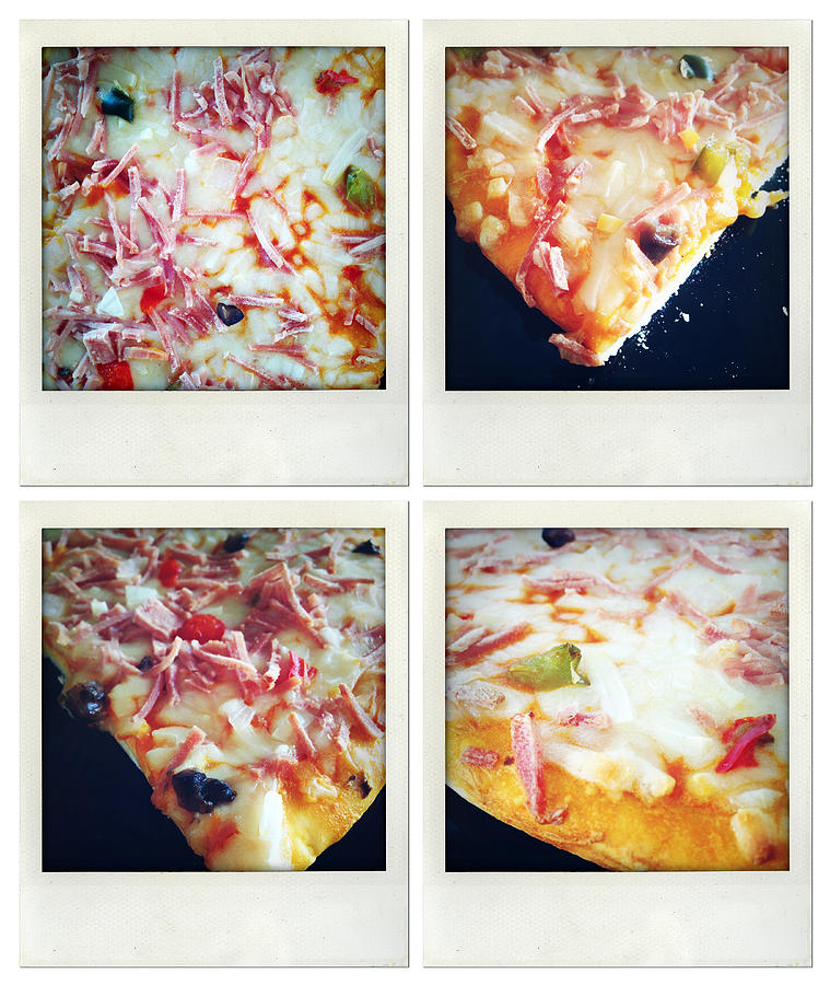 Snack Photograph - Pizza by Les Cunliffe