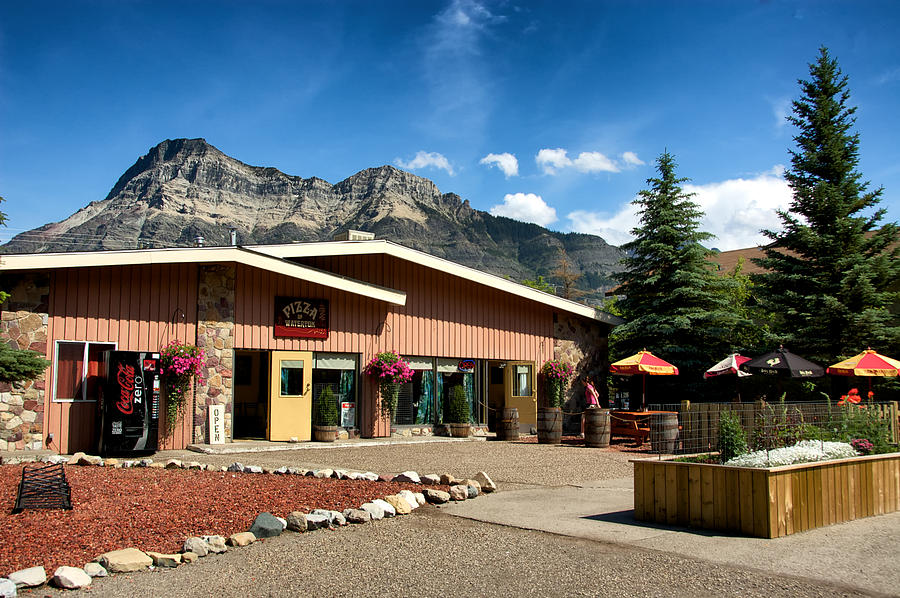 Alberta Photograph - Pizza Of Waterton by Trever Miller
