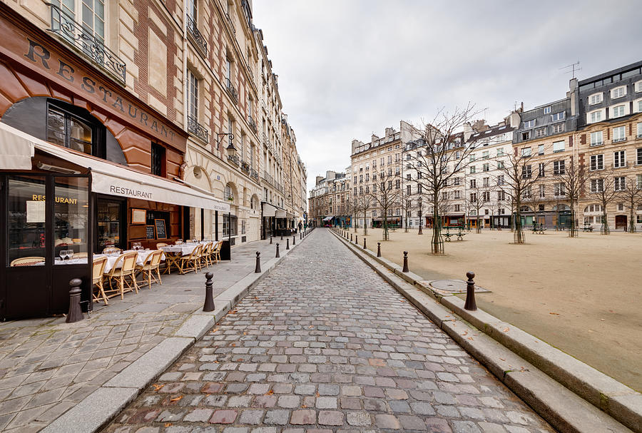 Place Dauphine Photograph by Jorg Greuel
