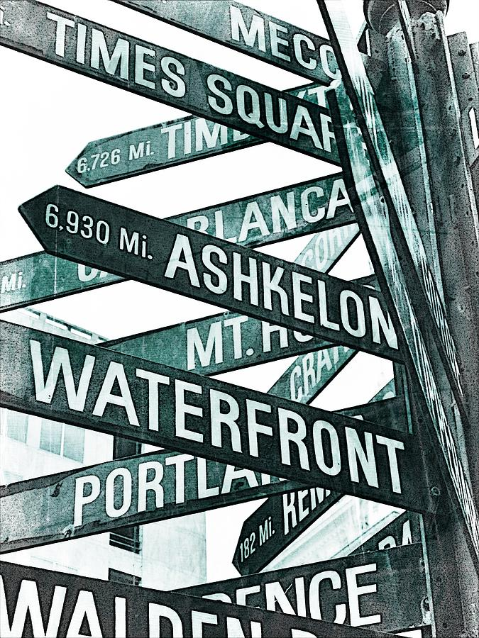 Downtown Portland Photograph - Places To See by Cathie Tyler