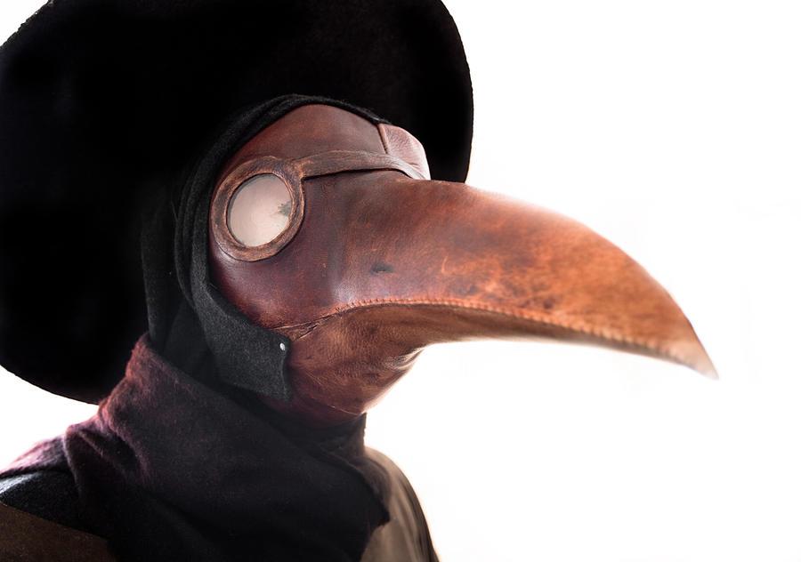 Plage doctor mask Photograph by ManuelVelasco