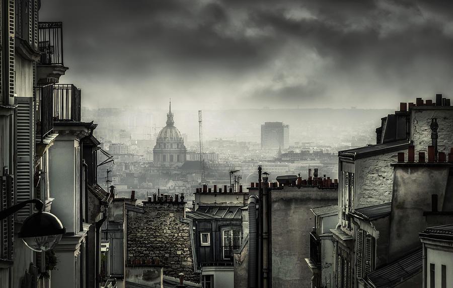 Architecture Photograph - Plague by La Taverne Aux