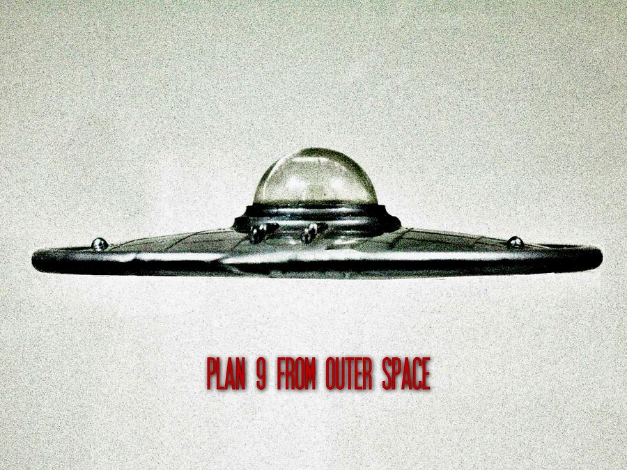 Ufo Photograph - Plan 9 From Outer Space by Benjamin Yeager
