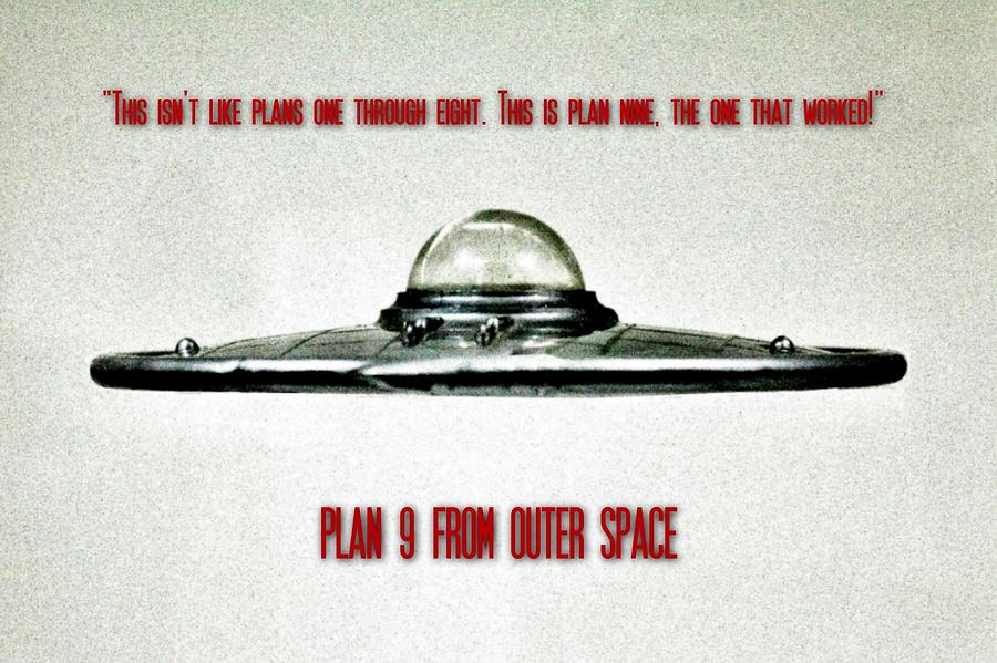 Ufo Photograph - Plan 9 Seinfeld by Benjamin Yeager