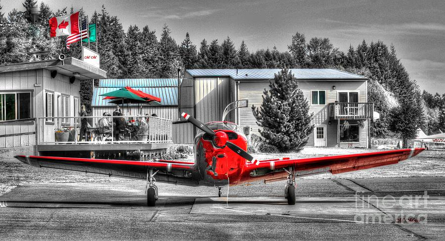 Flying To Lunch In Pacific Northwest Washington Photograph