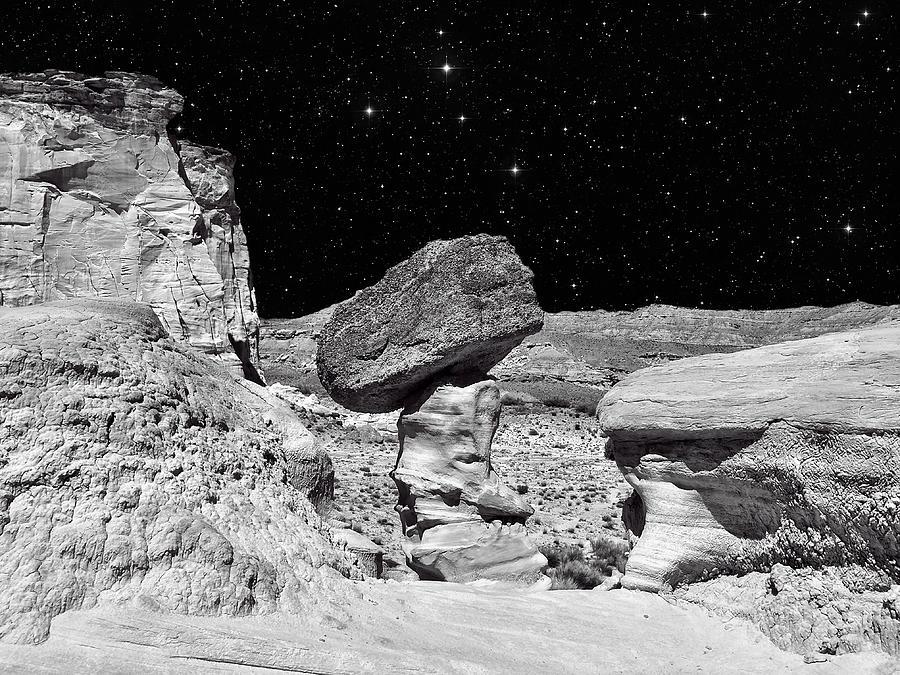 Southwest Landscape Photograph - Planet Oz - Southwest Surreal Landscape by Vlad Bubnov