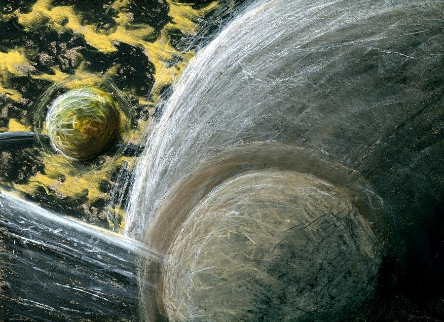 Planet Pastel - Planets 1 by Matthew Howard